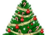 """,Vánoční strom'' - """"Vánoční strom"""" - 6 kusů"""