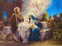 """""""Раждането на бебето Исус"""""""