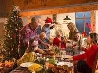 """""""Rodinné vánoční jídlo"""" - """"Rodinné vánoční jídlo"""" - 6 kusů"""