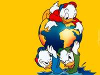PATO DONALD - Kaczor Fauntleroy Donald (Donald Fauntleroy Duck, propiedad de Paperino) - hijo de Kaczor Kwaczymon