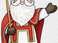 San Nicolás - Santa Claus el bueno y generoso