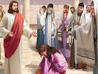 Jesús nos enseña a perdonar - Jesús nos ama a todos.