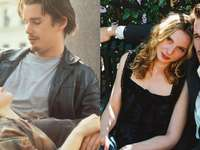 Before sunset and sunrise - Ethan Hawke and Julie Delpy