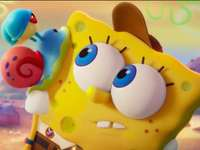 Sponge Bob - Spongebob with a snail
