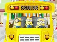 Minion School Bus - School Bus to use with preschoolers