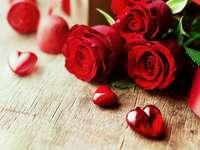 röda rosor - m ........................
