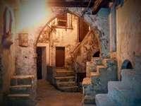 Peschicci centro storico FG Puglia italia - caratteristico angolo del Borgo di Peschicci Italia