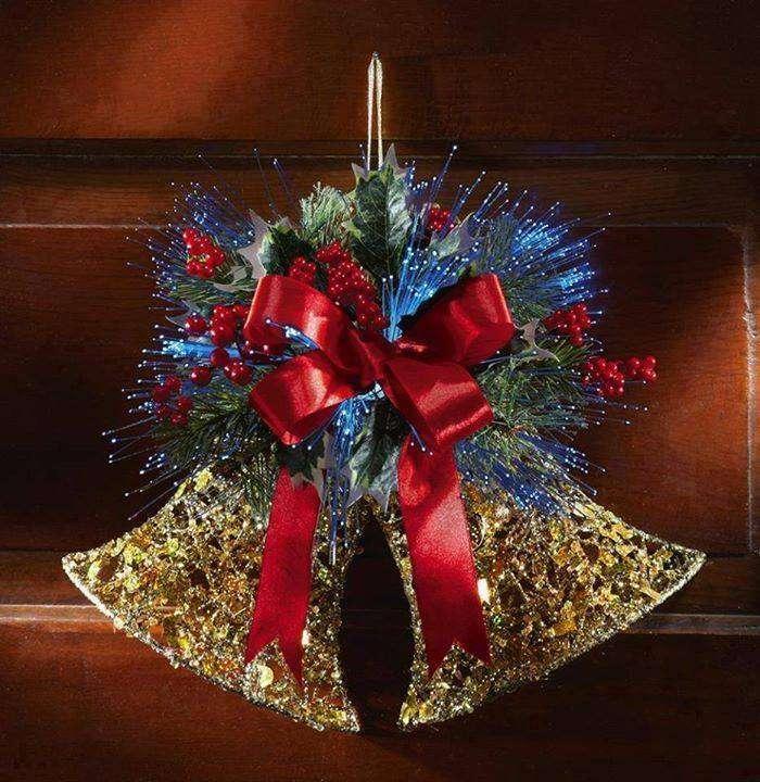 Cloches de Noël - Très belles cloches de Noël (12×13)