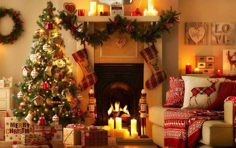 Sapin de Noël - Sapin de Noël dans le confort de la maison (14×9)