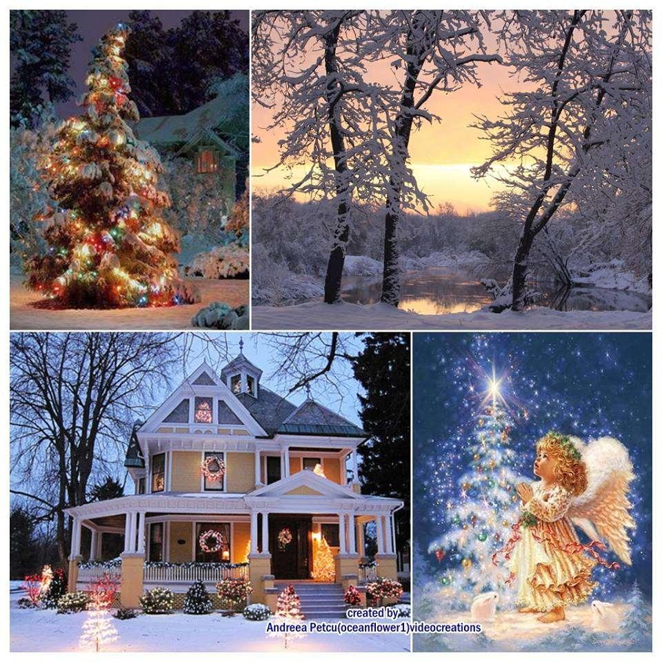Noël plus - Collage d'images de Noël (12×12)