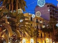 Taranto makulátlan tér Olaszország - Karácsony Taranto Puglia Olaszországban
