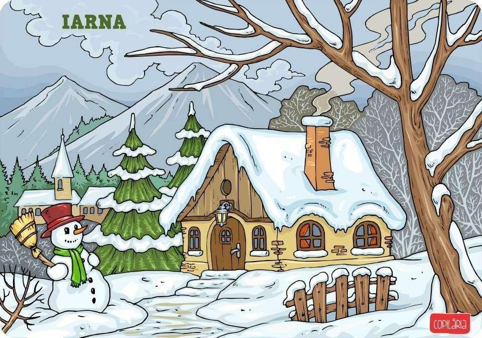 Téli - A kép a téli szezont szemlélteti (2×2)