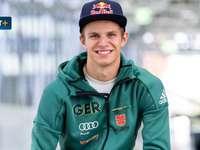 Andreas Wellinger - Andreas Wellinger - tysk skidhoppare, representant för SC Ruhpolding-klubben,