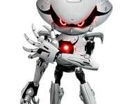 robot sonic - puzzle robot sonic pentru copii