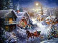 snowy winter - m .......................