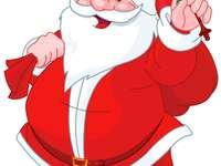 Mikulás - karácsonyi kép a Mikulás