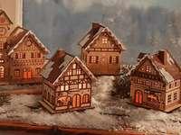Satul de Crăciun - Satul de Crăciun în zăpadă ...