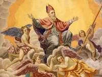 Mos Craciun - Sfântul Nicolae episcopul din Rai