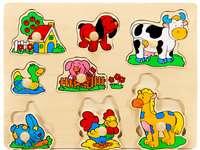 Animale domestice - În aceasta imagine sunt mai multe animale domestice.