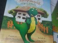 Fintiflusca - In aceasta inagine este reprezentat un dinozaur