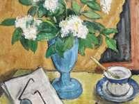Theodor Pallady - In diesem Bild ist statische Natur mit Blumen.