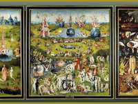 The Garden of Earthly Delights - Pussel för visuell analys