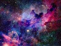 L'univers - Les gars un puzzle de l'univers