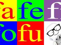 puzzle f - f szótagos puzzle