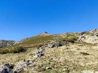 Peña Trevinca. Sanabria-Zamora-Spanien - Den högsta toppen i provinsen Zamora.