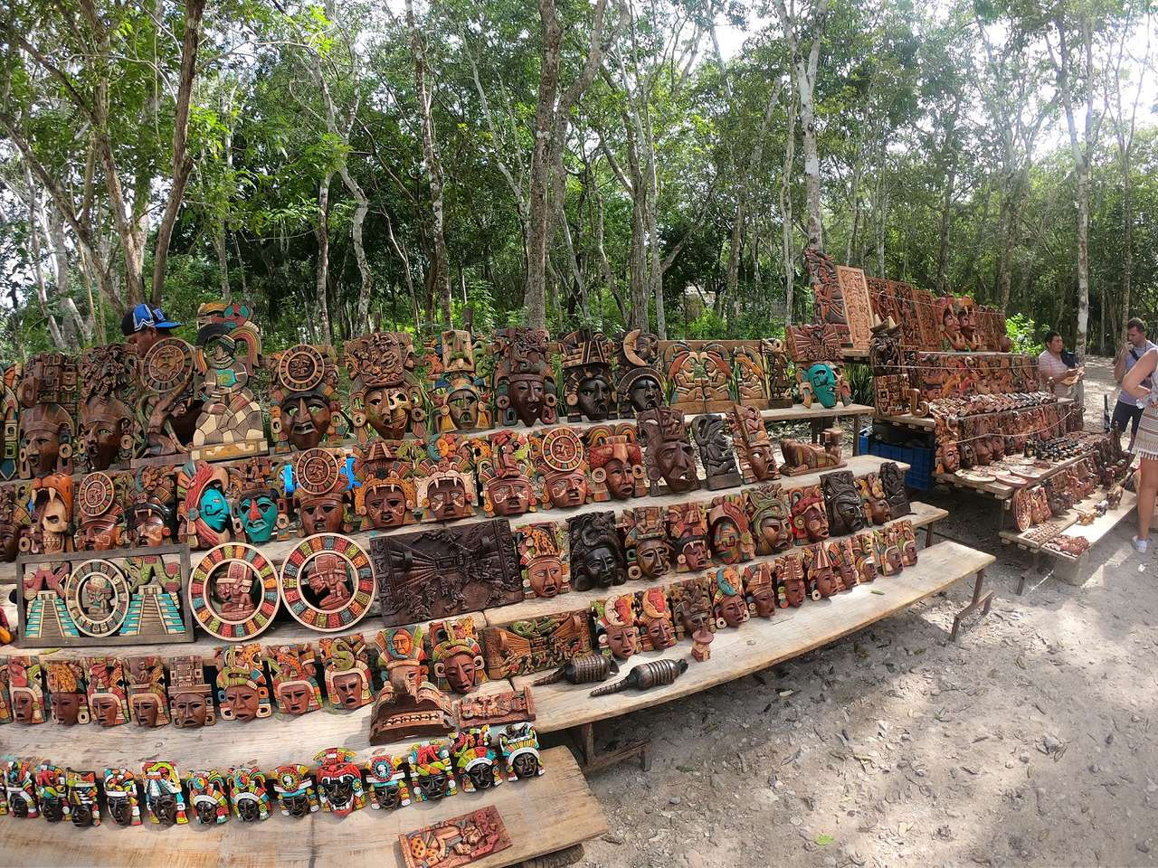 Chichen Itza - Mexiko skládačka