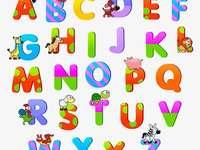 puzzle A-tól Z-ig - megtanulják az ábécét