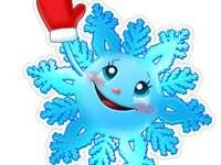 Fulgusorul - Téli témájú puzzle gyerekeknek