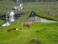 vattenfall - fåröar - m ....................