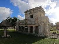 Tulum - antiga cidade maia - Tulum - antiga cidade maia no México