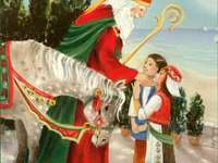 Sfantul Nicolae - Sfantul Nicolae este cel care aduce daruri copiilor