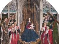 panna concellers - Gotická malba, vizuální analýza