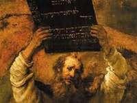 Mosè e il decimo comandamento - Metti insieme tutte le particelle correttamente! Divertiti:)