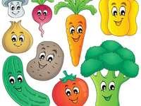 Зеленчуците - Това изображение показва зеленчуците.