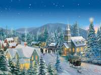 Kinkade_Christmas_Village