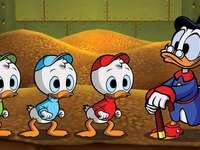 PAPERINO - Kaczor Fauntleroy Paperino (Donald Fauntleroy Duck, di proprietà di Paperino) - figlio di Kaczor Kw