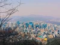 zdjęcia lotnicze miasta w ciągu dnia - 서울 특별시, Seul, Korea Południowa