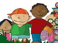 DIRITTO A NON ESSERE EMARGINATO - Illustrazione dalla convenzione dei diritti dei bambini in parole semplici UNICEF