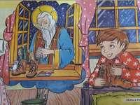 "San Nicola - Puzzle ""Babbo Natale"""