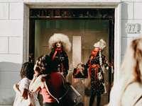 Adelealiman mode visar docka - mode. Rom, Italien