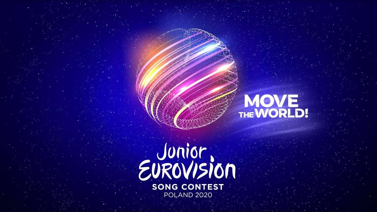 Soutěž Eurovision junior 2020 - Logo Eurovision junior 2020 (8×5)