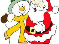 Νικόλαος - Άγιος Βασίλης σε καλή παρέα.