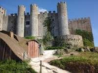 Castelo de obidos - Uma pequena cidade em portugal