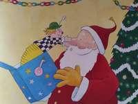 Babbo Natale con il jack-in-the-box - Babbo Natale e jack-in-the-box