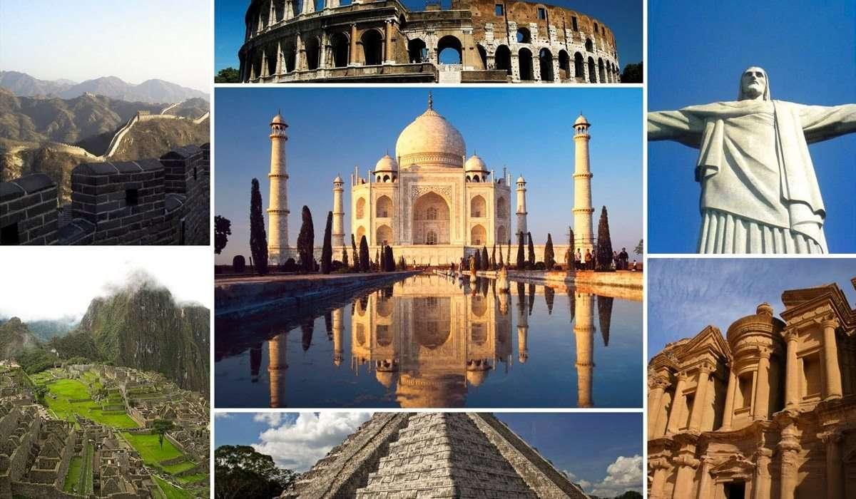 De sju underverk i den antika världen - Mughal Emperor Shah Jahan byggde detta majestätiska palats till ära för sin fjärde fru, Mumtaz Mahal. Med tiden skulle det bli en symbol för kärlek och skönhet för eftertiden (10×6)