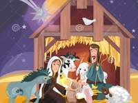 the manger of Bethlehem